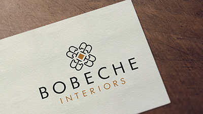 Bobeche Interiors: Logo