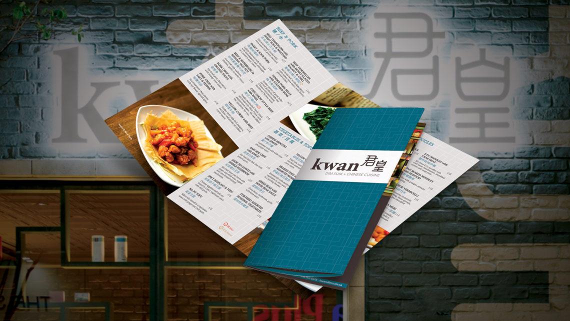 Kwan Dimsum: Menu